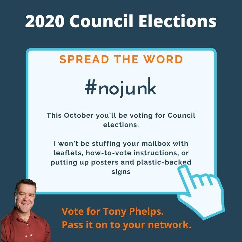 No junk election material