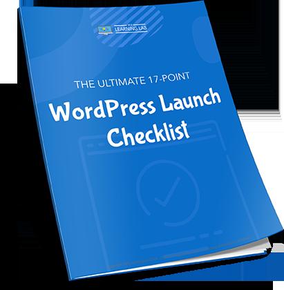 17-Point WordPress Launch Checklist