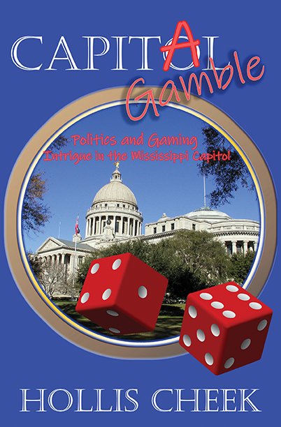 Capitol Gamble by Hollis Cheek is a cozy mystery set in Jackson, Mississippi